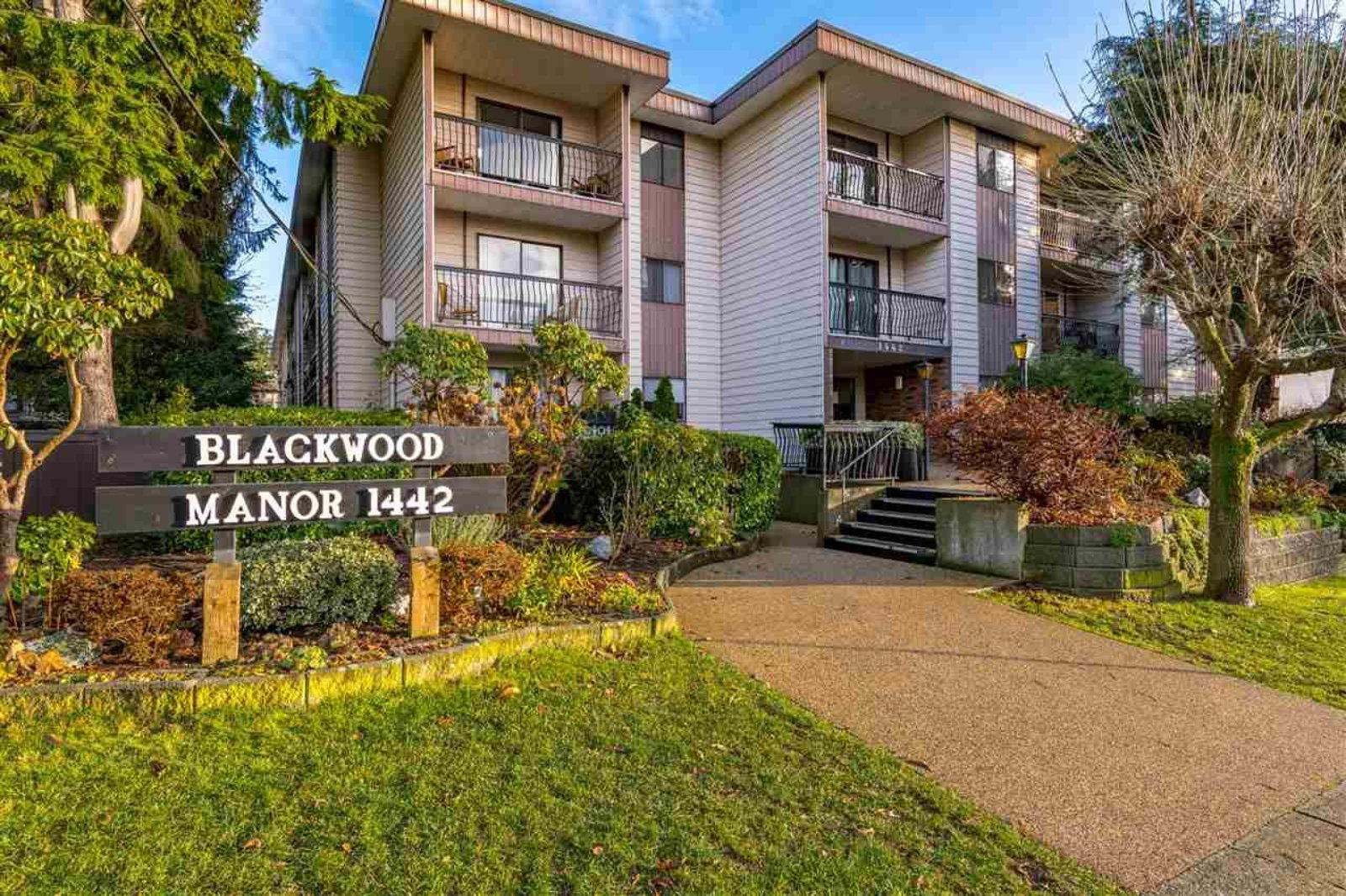 Sold 316 1442 Blackwood Street White Rock On January 2021 View Sold Price Bccondosandhomes