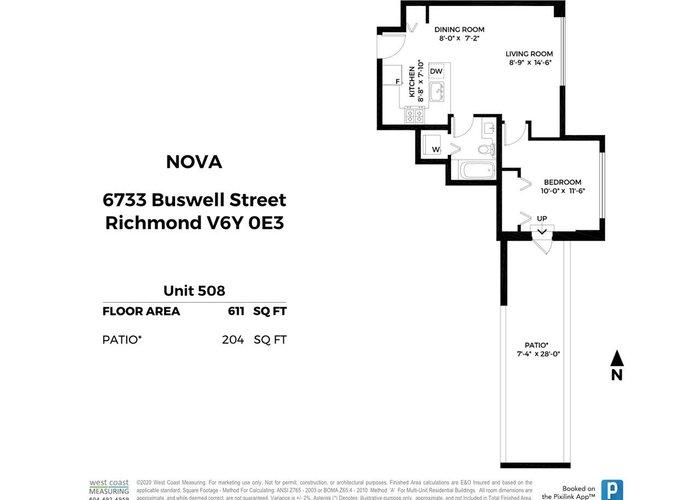 508 6733 Buswell Street, Richmond
