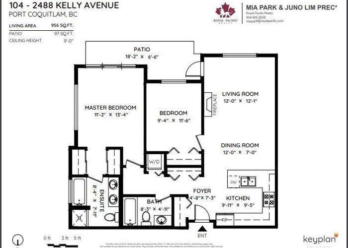 104 2488 Kelly Avenue, Port Coquitlam