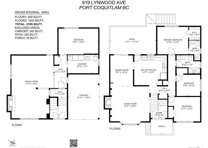 919 Lynwood Avenue, Port Coquitlam