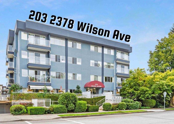 203 2378 Wilson Avenue, Port Coquitlam