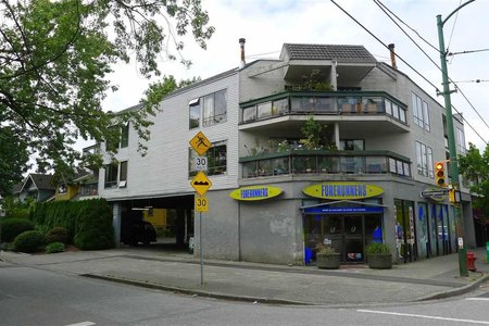 R2122435 - 206 3506 W 4TH AVENUE, Kitsilano, Vancouver, BC - Apartment Unit