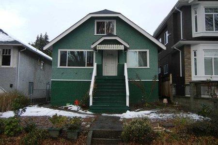 R2130017 - 2541 E BROADWAY, Renfrew VE, Vancouver, BC - House/Single Family
