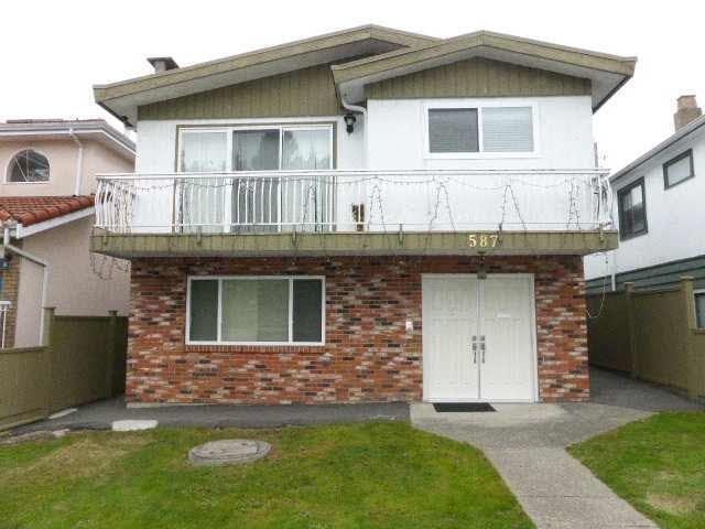 R2140585 - 587 E 57TH AVENUE, South Vancouver, Vancouver, BC - House/Single Family
