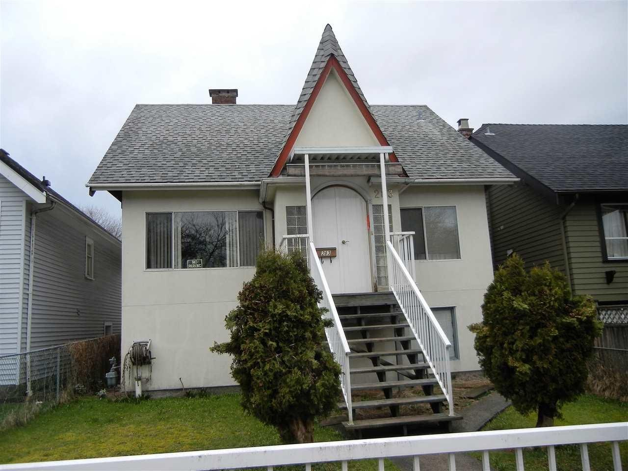 R2147566 - 283 RENFREW STREET, Hastings East, Vancouver, BC - House/Single Family