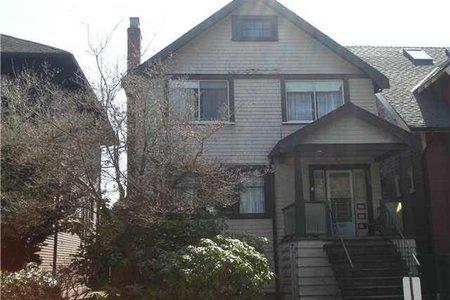 R2147707 - 2856 W 3RD AVENUE, Kitsilano, Vancouver, BC - House/Single Family