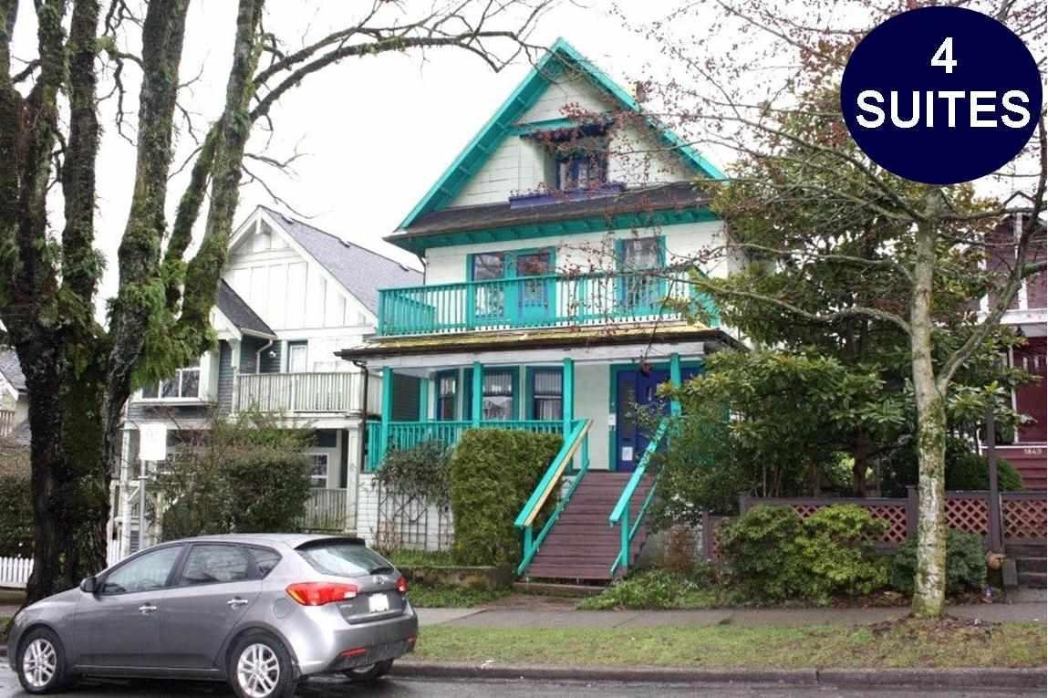 R2148247 - 1847 VENABLES STREET, Hastings, Vancouver, BC - House/Single Family