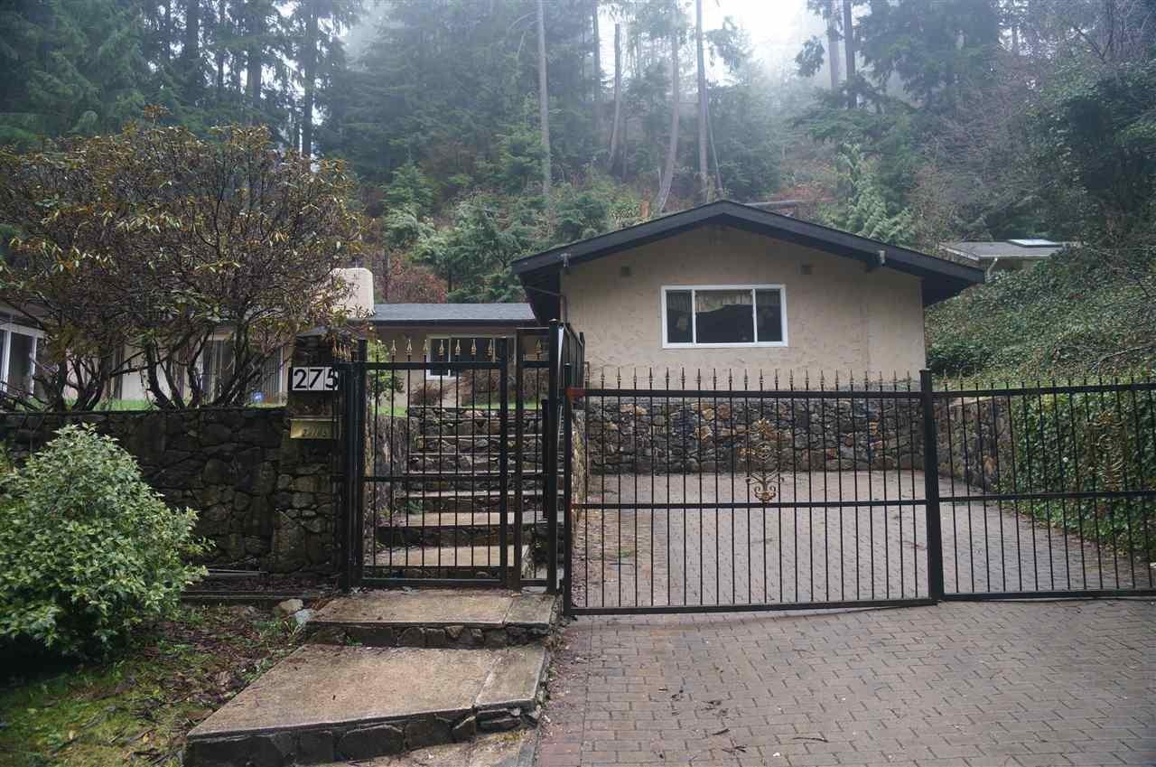 R2153657 - 275 RABBIT LANE, British Properties, West Vancouver, BC - House/Single Family