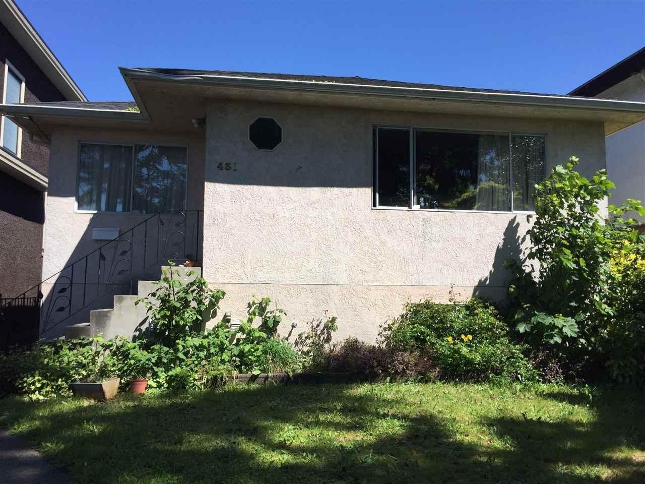 R2155451 - 431 E 58TH AVENUE, South Vancouver, Vancouver, BC - House/Single Family