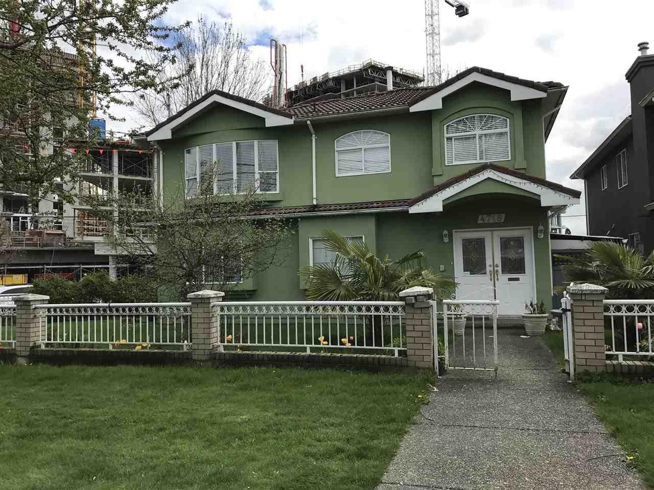 R2157247 - 4718 GLADSTONE STREET, Victoria VE, Vancouver, BC - House/Single Family