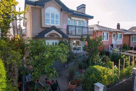 R2158704 - 4736 VICTORIA DRIVE, Victoria VE, Vancouver, BC - House/Single Family