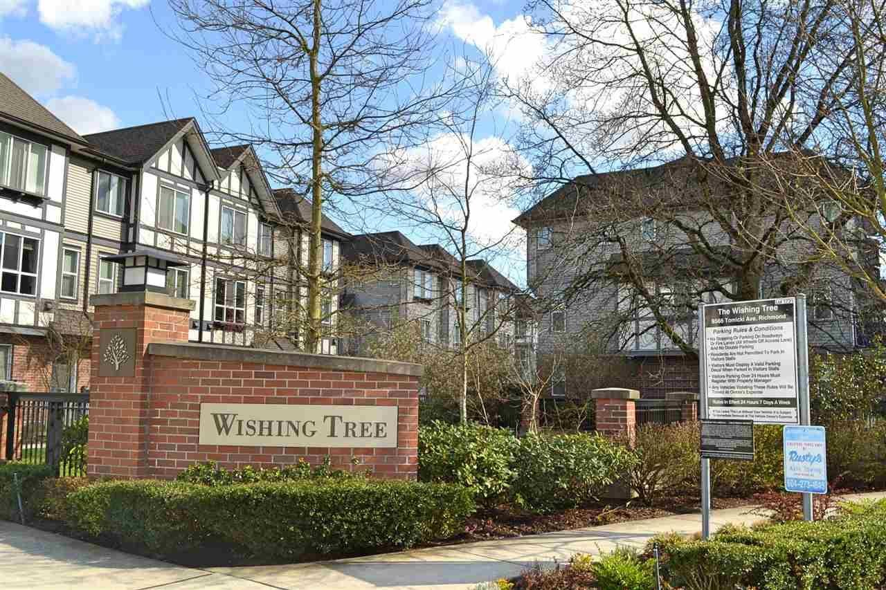 R2162557 - 72 9566 TOMICKI AVENUE, West Cambie, Richmond, BC - Townhouse