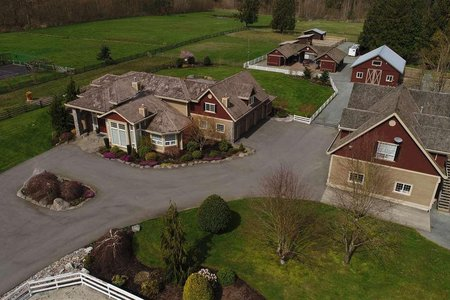 R2163024 - 22919 8 AVENUE, Campbell Valley, Langley, BC - House with Acreage