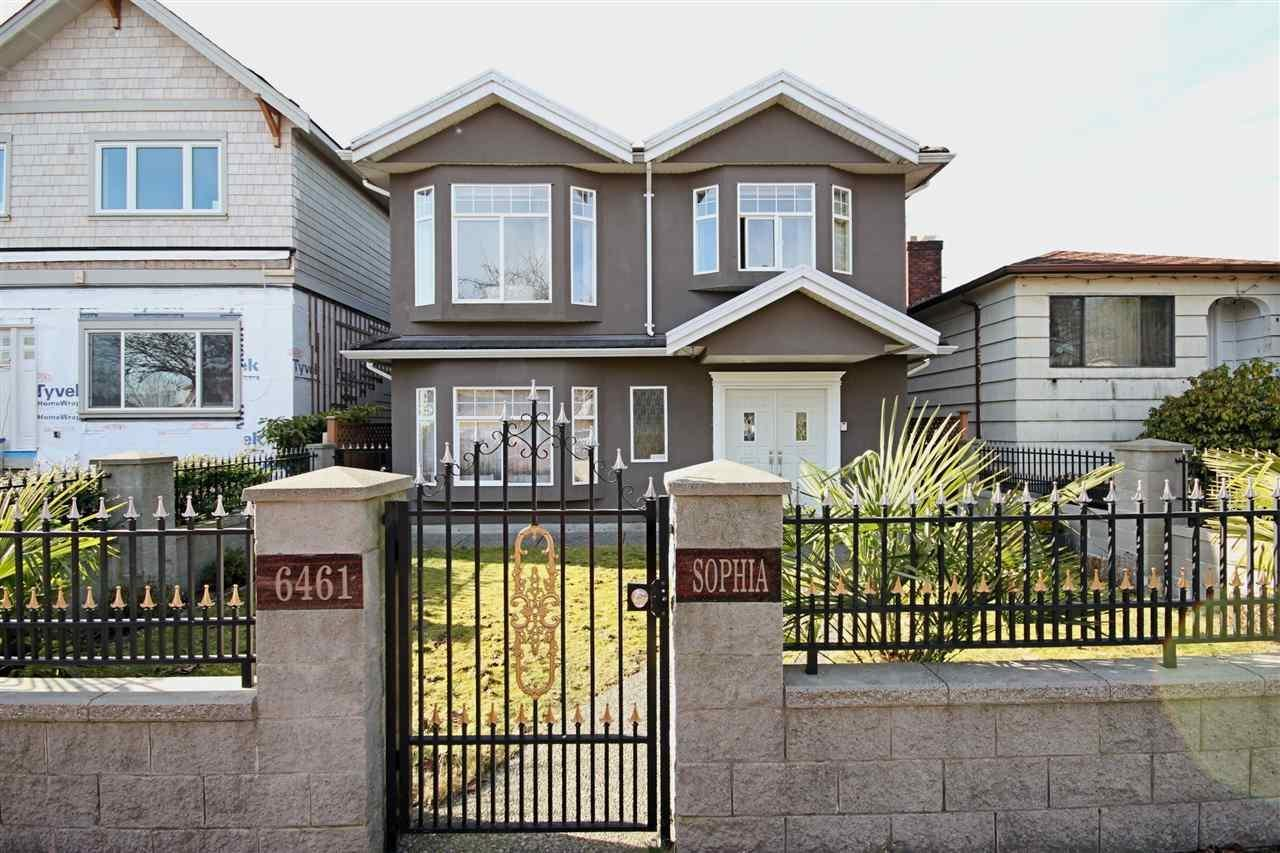 R2169916 - 6461 SOPHIA STREET, Main, Vancouver, BC - House/Single Family