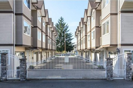 R2175024 - 101 19700 56 AVENUE, Langley City, Langley, BC - Townhouse