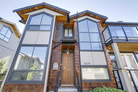 R2179386 - 1420 BEWICKE AVENUE, Hamilton, North Vancouver, BC - House/Single Family