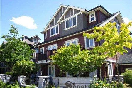 R2183674 - 3 9628 FERNDALE ROAD, McLennan North, Richmond, BC - Townhouse