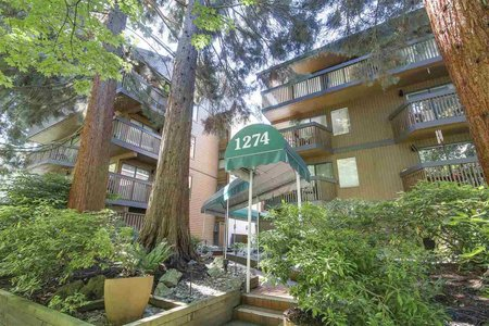 R2184474 - 103 1274 BARCLAY STREET, West End VW, Vancouver, BC - Apartment Unit