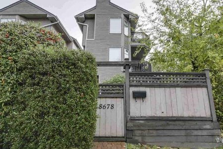 R2190014 - 8678 SW MARINE DRIVE, Marpole, Vancouver, BC - Townhouse