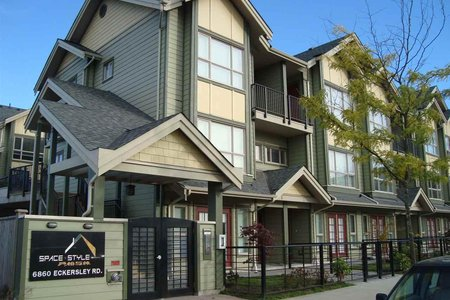 R2191136 - 1 6860 ECKERSLEY ROAD, Brighouse, Richmond, BC - Townhouse