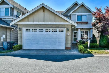 R2191772 - 20 7067 189 STREET, Clayton, Surrey, BC - House/Single Family