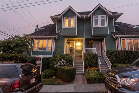 R2194575 - 451 ST. ANDREWS AVENUE, Lower Lonsdale, North Vancouver, BC - Townhouse
