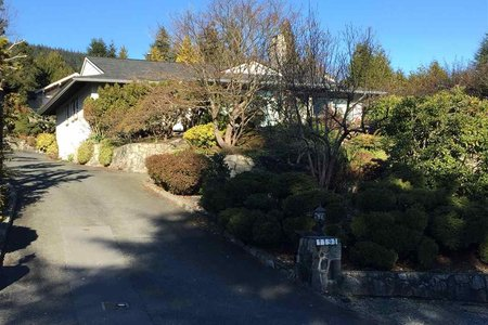 R2196018 - 1191 CHARTWELL DRIVE, Chartwell, West Vancouver, BC - House/Single Family