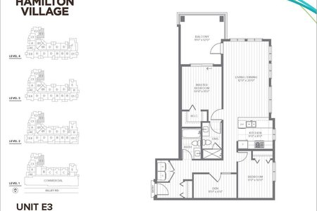 R2196184 - 414 23233 GILLEY ROAD, East Richmond, Richmond, BC - Apartment Unit