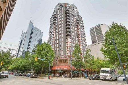 R2196187 - 1704 811 HELMCKEN STREET, Downtown VW, Vancouver, BC - Apartment Unit