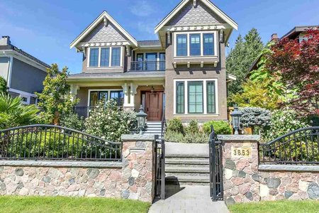 R2198049 - 3853 W 38TH AVENUE, Dunbar, Vancouver, BC - House/Single Family