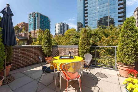 R2200490 - 102 1068 HORNBY STREET, Downtown VW, Vancouver, BC - Townhouse