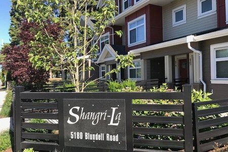 R2203346 - 13 5180 BLUNDELL ROAD, Lackner, Richmond, BC - Townhouse