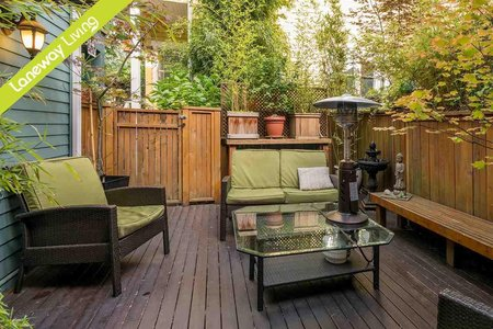 R2204383 - 849 KEEFER STREET, Mount Pleasant VE, Vancouver, BC - Townhouse