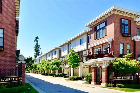 R2204694 - 14 3399 151 STREET, Morgan Creek, Surrey, BC - Townhouse