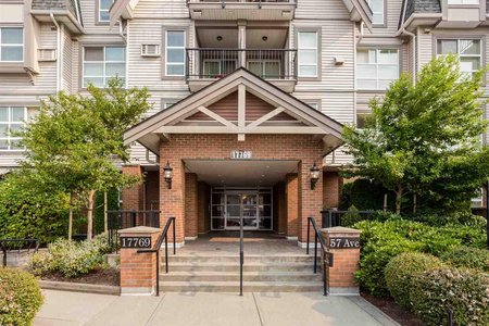 R2204837 - 305 17769 57 AVENUE, Cloverdale BC, Surrey, BC - Apartment Unit