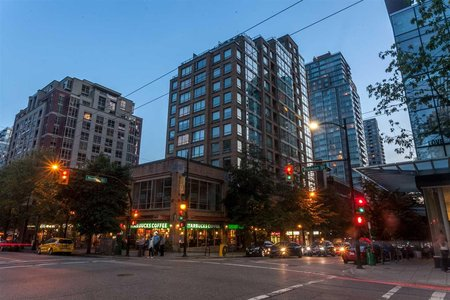 R2206491 - 707 822 HOMER STREET, Downtown VW, Vancouver, BC - Apartment Unit