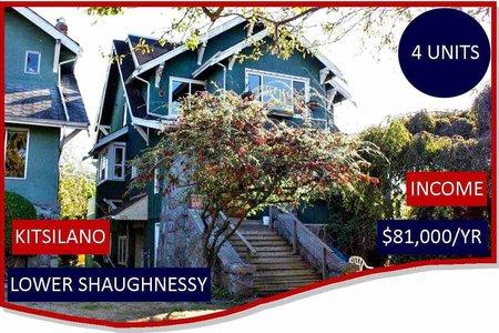 R2207016 - 2072 W 15TH AVENUE, Kitsilano, Vancouver, BC - House/Single Family
