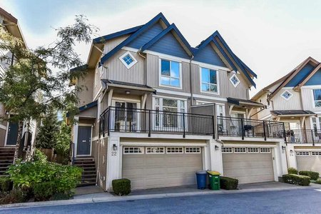 R2208326 - 22 20120 68 AVENUE, Willoughby Heights, Langley, BC - Townhouse