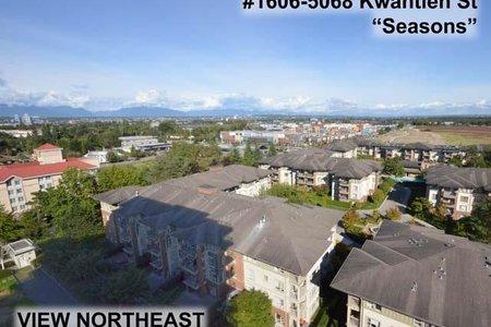 R2208415 - 1606 5068 KWANTLEN STREET, Brighouse, Richmond, BC - Apartment Unit