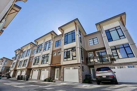 R2210824 - 55 9989 E BARNSTON DRIVE, Fraser Heights, Surrey, BC - Townhouse