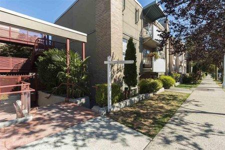R2212011 - 108 1195 W 8TH AVENUE, Fairview VW, Vancouver, BC - Apartment Unit