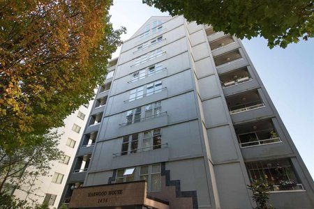 R2212036 - 301 1436 HARWOOD STREET, West End VW, Vancouver, BC - Apartment Unit