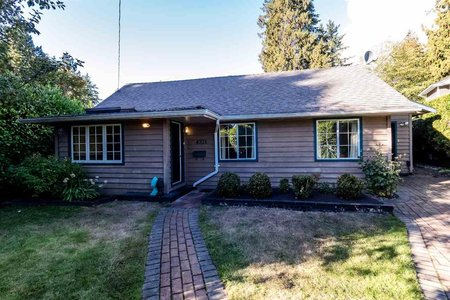 R2212519 - 4321 ERWIN DRIVE, Cypress, West Vancouver, BC - House/Single Family