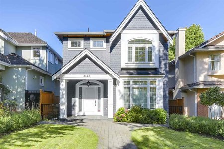R2212554 - 4343 W 12TH AVENUE, Point Grey, Vancouver, BC - House/Single Family