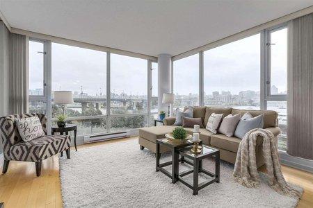 R2213269 - 605 1033 MARINASIDE CRESCENT, Yaletown, Vancouver, BC - Apartment Unit