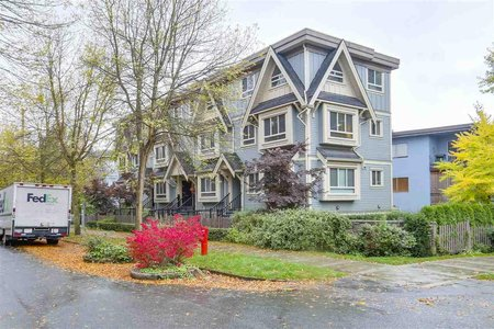 R2213820 - 89 N GARDEN DRIVE, Hastings, Vancouver, BC - Townhouse