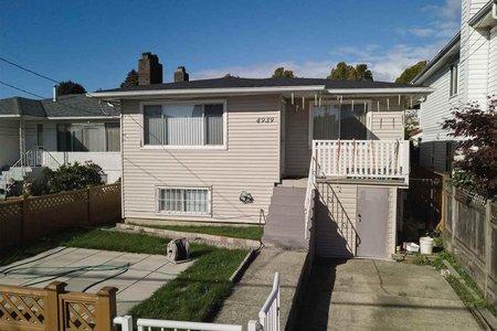 R2215121 - 4939 RUPERT STREET, Collingwood VE, Vancouver, BC - House/Single Family