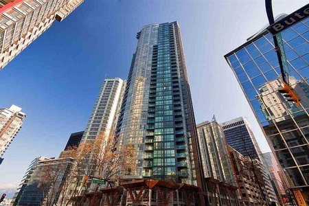 R2215520 - 805 1189 MELVILLE STREET, Coal Harbour, Vancouver, BC - Apartment Unit