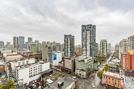 R2216015 - 1601 1212 HOWE STREET, Downtown VW, Vancouver, BC - Apartment Unit