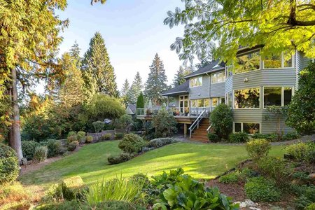 R2216751 - 4941 WATER LANE, Olde Caulfeild, West Vancouver, BC - House/Single Family
